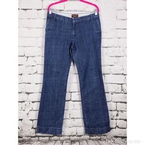 BANANA REPUBLIC | Stretch Denim Cuffed Jean Sz 10